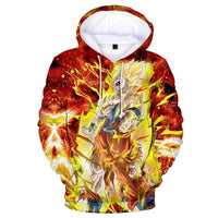 Dragon Ball Z 3D Printed Hoodies Mens Hoodie Long Sleeve Casual Boys and Kids A108 - Tina Store