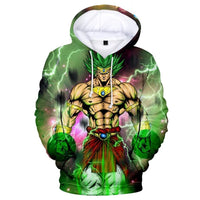 Dragon Ball Z 3D Printed Hoodies Mens Hoodie Long Sleeve Casual Boys and Kids A113