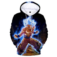 Dragon Ball Z 3D Printed Hoodies Mens Hoodie Long Sleeve Casual Boys and Kids A118