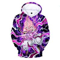 Dragon Ball Z 3D Printed Hoodies Mens Hoodie Long Sleeve Casual Boys and Kids YH11