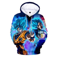 Dragon Ball Z 3D Printed Hoodies Mens Hoodie Long Sleeve Casual Boys and Kids YH16