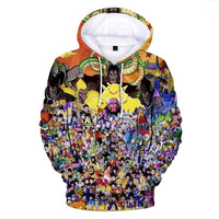Dragon Ball Z 3D Printed Hoodies Mens Hoodie Long Sleeve Casual Boys and Kids YH7