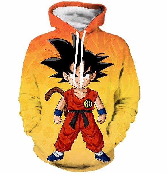 Dragon Ball Z Hoodie 3D Pullovers Pocket Long Sleeve Outerwear Mens Hoodie DBLZ1 - Tina Store