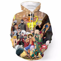 Dragon Ball Z Hoodie 3D Pullovers Pocket Long Sleeve Outerwear Mens Hoodie DBLZ7 - Tina Store