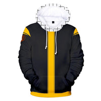 Fairy Tail Hoodie Cosplay Costume Pullover Tops 3D Hoodie - Tina Store