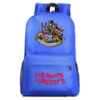 Fnaf Backpack Cute Teddy Bear Midnight Harem Youth Student Schoolbag