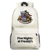 Fnaf Backpack Cute Teddy Bear Midnight Harem Youth Student Schoolbag FN189