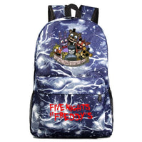 Fnaf Backpack Cute Teddy Bear Midnight Harem Youth Student Schoolbag FN190