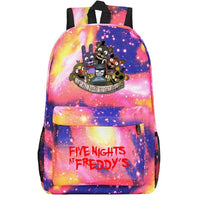Fnaf Backpack Cute Teddy Bear Midnight Harem Youth Student Schoolbag FN190 - Tina Store