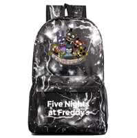 Fnaf Backpack Cute Teddy Bear Midnight Harem Youth Student Schoolbag FN192