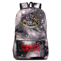 Fnaf Backpack Cute Teddy Bear Midnight Harem Youth Student Schoolbag FN193