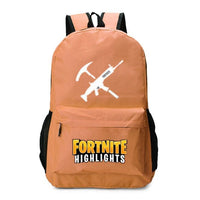 Fortnite Backpack Luminous Bag For Youth Campus