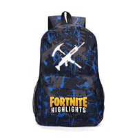 Fortnite Backpack Luminous Bag For Youth Campus A1025