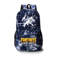 Fortnite Backpack Luminous Bag For Youth Campus A1026