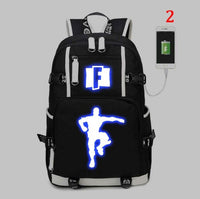 Fortnite Battle Royale Backpack with USB Charging Port - Tina Store