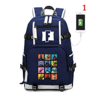 Fortnite Battle Royale Backpack with USB Charging Port