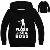 Fortnite Hoodie Kids 3D Modis Sweatshirt Casual Streetwear Children Clothing Black Hoodie - Tina Store