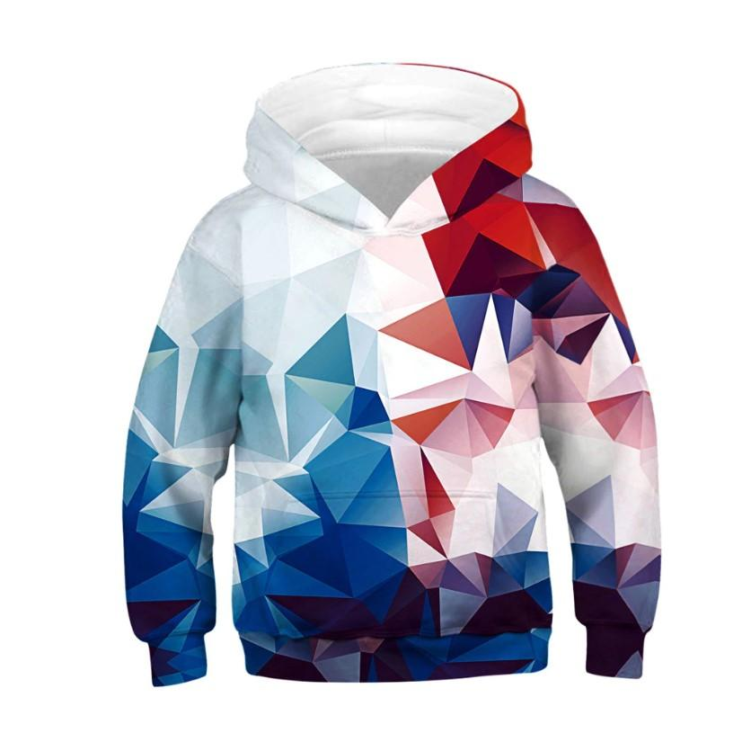 Fortnite Hoodie Kids Girl Boy Galaxy Fleece Cartoon Sweatshirt Pocket Pullover Hoodie - Tina Store