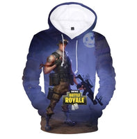 Fortnite Hoodies 3D Games In Fortnite Battle Royale Fancy Men's Winter Jacket - Tina Store