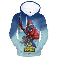 Fortnite Hoodies 3D Games In Fortnite Battle Royale Fancy Men's Winter Jacket