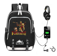 Fortnite Llama Printed School Backpack Bag - Tina Store