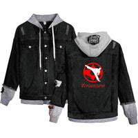 Jean Jackets With Hoodies Kyokushin Hoodie Autumn Winter Unisex Fashion HD1525