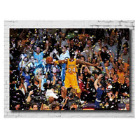 Kobe Bryant Dunk Poster Canvas Wall Decortion - Tina Store