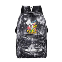 Marshmello Backpack Electronic Music DJ Backpack B1761
