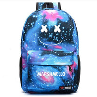Marshmello Backpack Smile Student Schoolbag SB1026