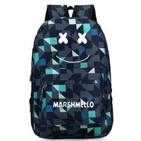 Marshmello Backpack Smile Student Schoolbag SB1027