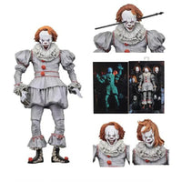 Pennywise Action Figure Neca Toy Doll Horror Halloween Gift IT1023 - Tina Store
