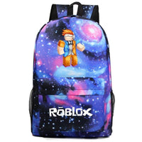 Roblox Backpack Sky Youth Student Schoolbag Great Gift For Kids 166