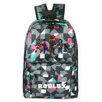 Roblox Backpack Unique Student Schoolbag Great Gift For Kids RB459