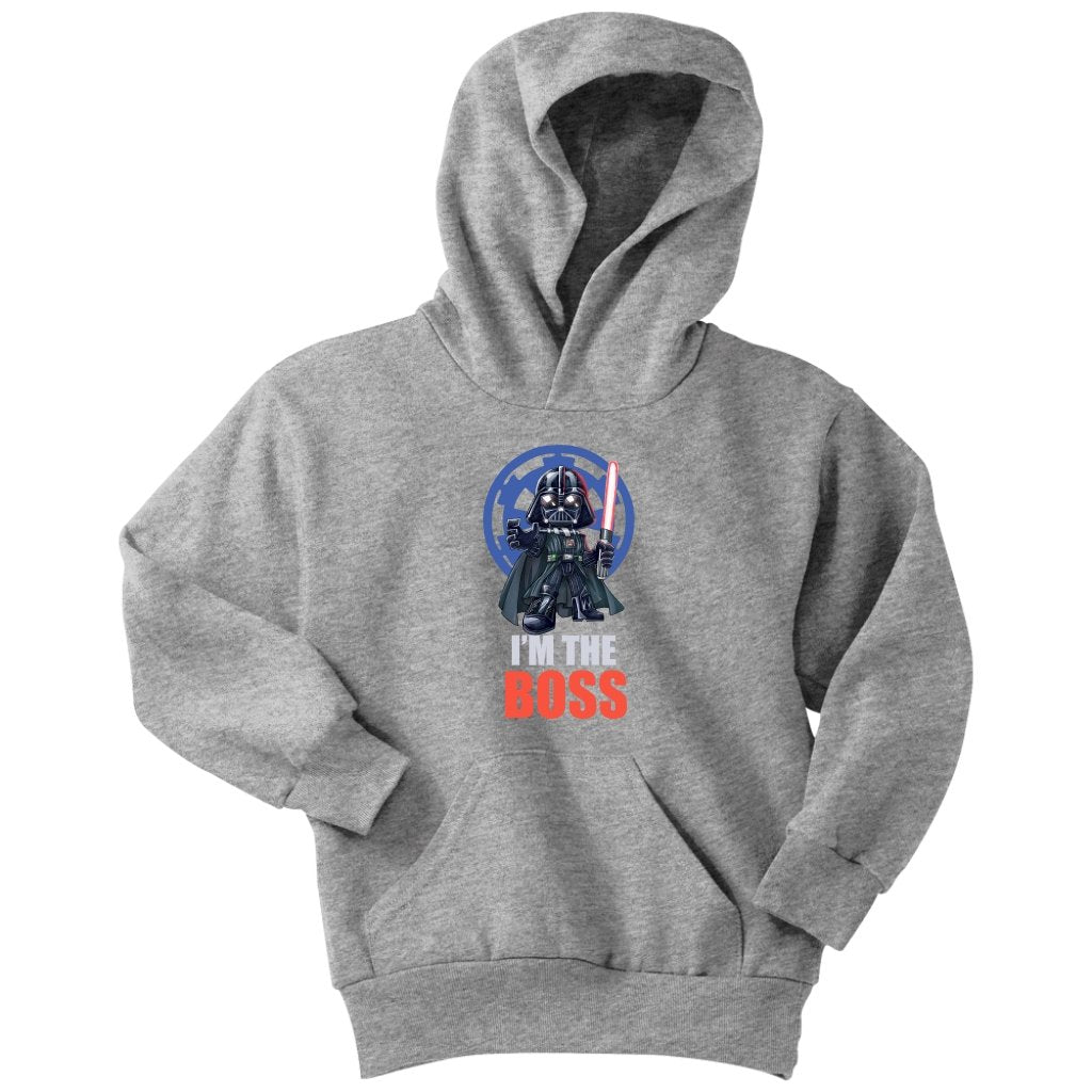Star wars darth vader i am the boss Youth Hoodie - Tina Store