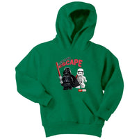 Star wars darth vader strom trooper lego there is no escape Youth Hoodie