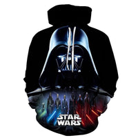 Star Wars Hoodies 3D Cool Design Men Sweatshirts Casual Male Tracksuits Fashion