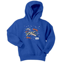 Star Wars X Wing Pew Pew Youth Hoodie - Tina Store