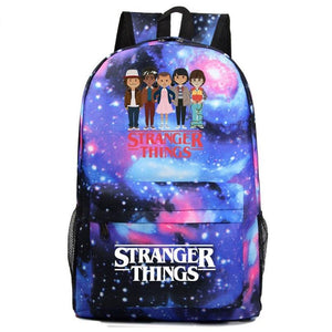 Stranger Thing Backpack Cartoon Young Student Schoolbag Casual Backpack BA7567 - Tina Store