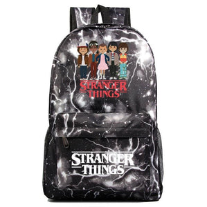 Stranger Thing Backpack Cartoon Young Student Schoolbag Casual Backpack BA7568 - Tina Store