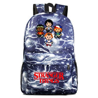 Stranger Thing Backpack Strange Stories Students Schoolbags A1506 - Tina Store