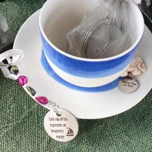 Stainless Steel Infuser Ball with quote for cup of tea