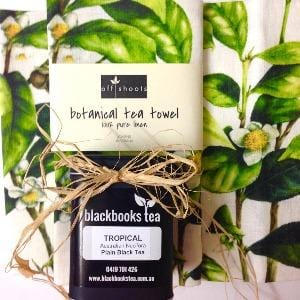 The TEA T-Towel - Botanical Camellia Sinensis (T-Towel only)