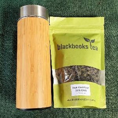 Combo - Oolong Tea & Bamboo Stainless Steel Flask