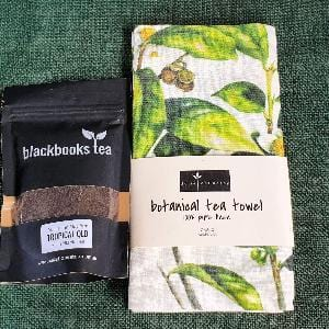 Botanical Linen Tea Towel-Nucifora Tea - Combo