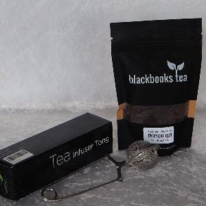Combo - Australian Grown Plain Black Tea plus Tong Infuser