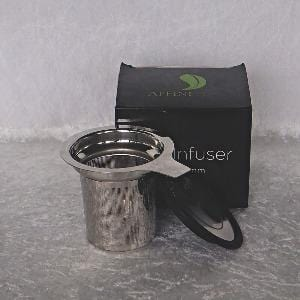 Infuser Basket-Stainless Steel-with lid and rest