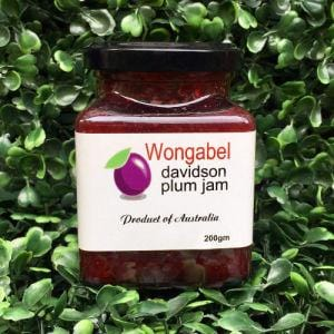 Jar of Wongabel Davidson Plum Jam