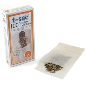 T-sac Filters unbleached to make your own teabags