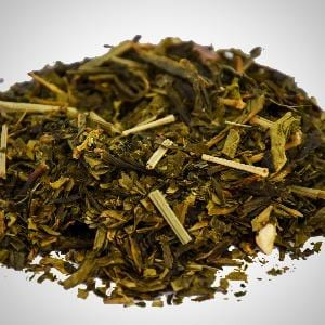 Japanese Lime Flavoured Green Loose Leaf Tea