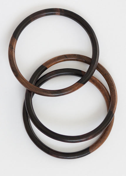 Kamagong Tiger Ebony Wood Bangle (Limited Stock)